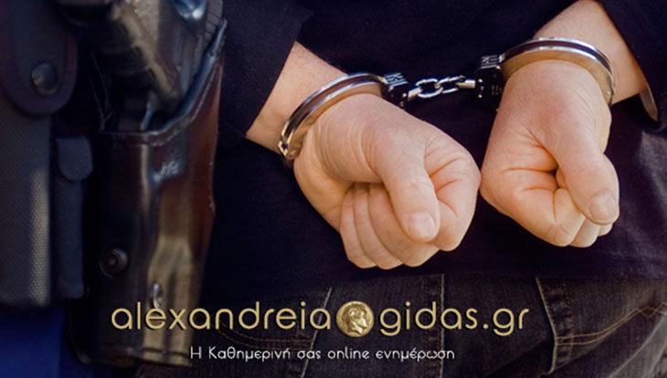 Συνέλαβαν 34χρονο στην Ημαθία για εμπόριο ναρκωτικών (φώτο)