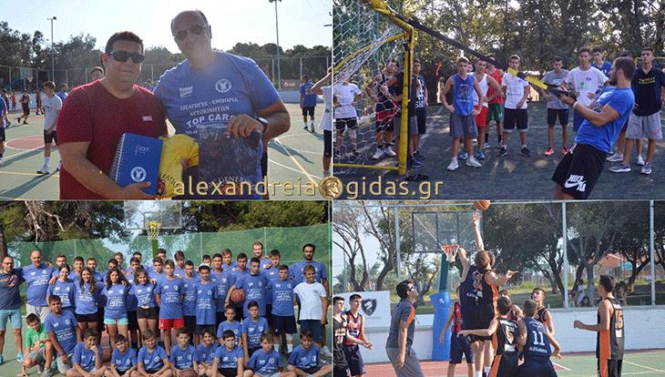 Με μεγάλη επιτυχία οι «Μπασκετοδιακοπές» του ΑΘΛΟΥ Αλεξάνδρειας στη Χαλκιδική! (φώτο)