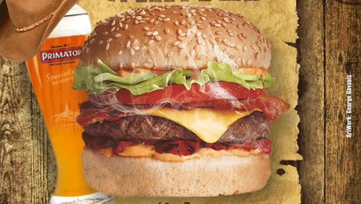Βραδιά burger με κερασμένη την βαρελίσια Primator απόψε στο OLIVE στον πεζόδρομο!