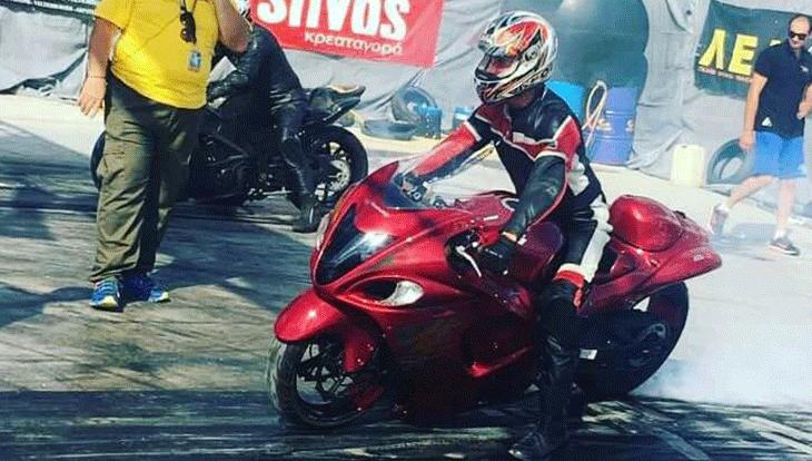 21χρονος αναβάτης έχασε τη ζωή του σε αγώνα dragster