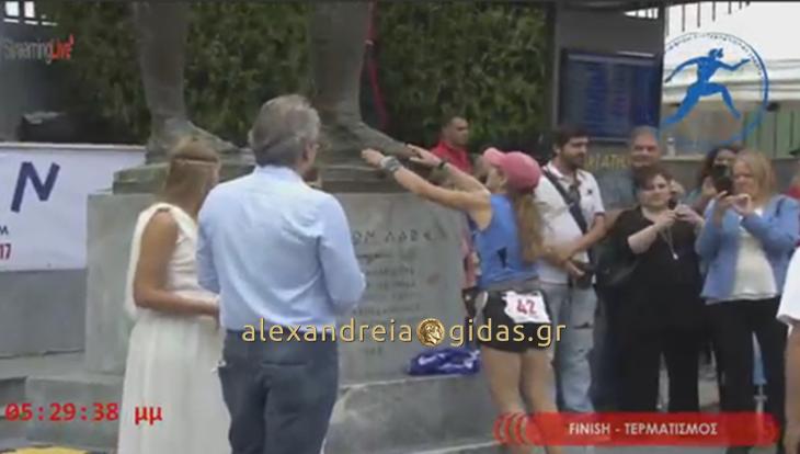 Τερμάτισε και φέτος στο ΣΠΑΡΤΑΘΛΟΝ η Γεωργία Μήτσιου από την Αλεξάνδρεια! (φώτο)