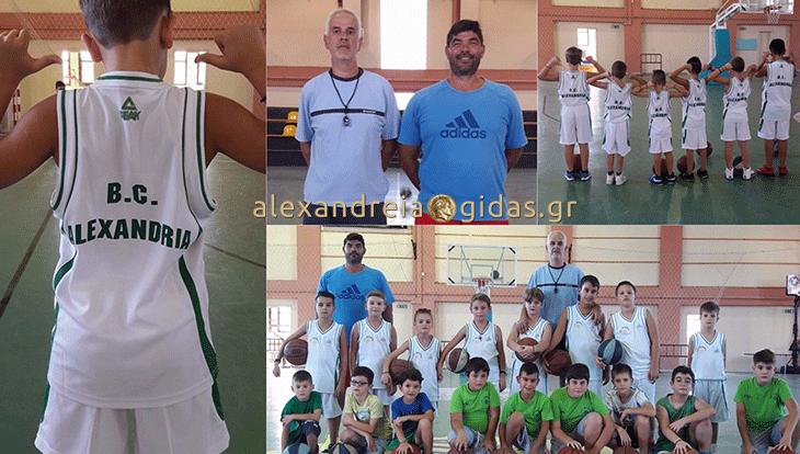 Προπονήσεις στις ακαδημίες μπάσκετ του ΓΑΣ σε Αλεξάνδρεια και Πλατύ