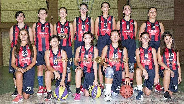 Το ξέρατε πως υπάρχει ακαδημία μπάσκετ και για τα κορίτσια στην Αλεξάνδρεια; (φώτο)