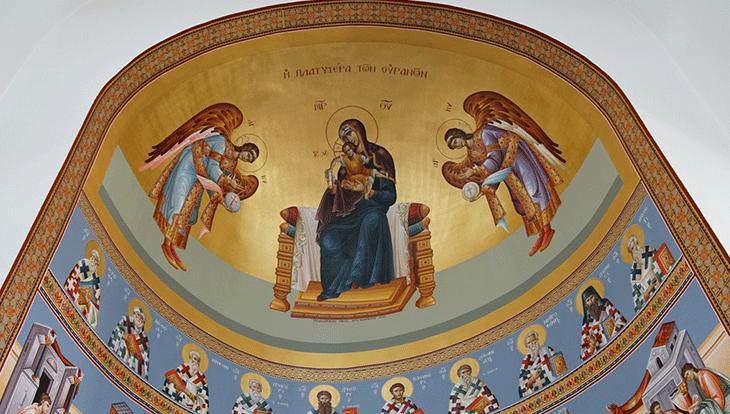Αγιογραφημένα έργα τοποθετήθηκαν στον Ι. Ν. Αγίου Αλεξάνδρου στην Αλεξάνδρεια (φώτο)