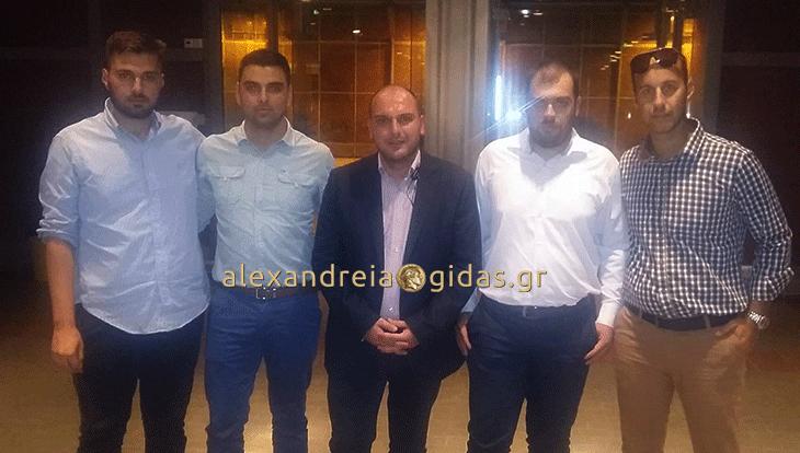 Ενεργή συμμετοχή της ΟΝΝΕΔ Ημαθίας στην εκδήλωση της ΟΝΝΕΔ στην Έκθεση Θεσσαλονίκης