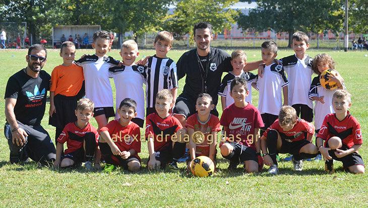 Γέμισε ποδοσφαιρικά ταλέντα το γήπεδο του Νησίου Αλεξάνδρειας (φώτο)