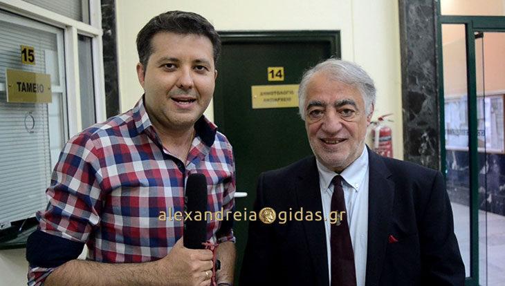 Στην Αλεξάνδρεια βρέθηκε ο γνωστός καθηγητής Γεώργιος Παυλίδης (βίντεο με δηλώσεις)