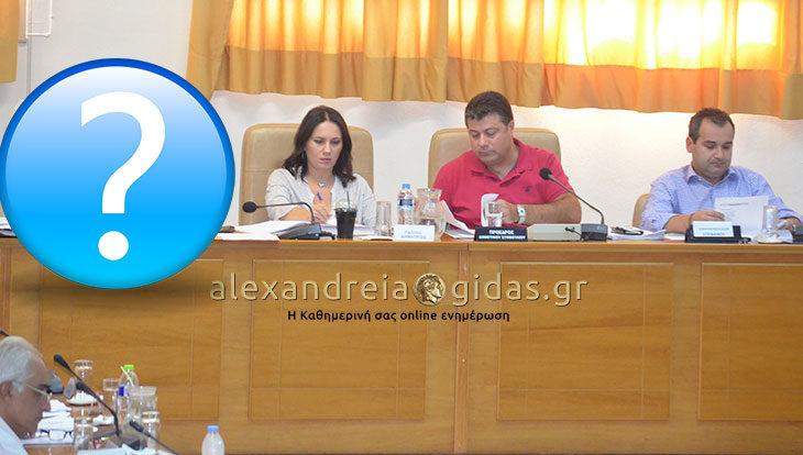 Κάτι άλλαξε στη σημερινή συνεδρίαση του δημοτικού συμβουλίου Αλεξάνδρειας! (φώτο)