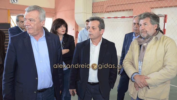 85.000 ευρώ για την επανακατασκευή δαπέδου στο κλειστό του 2ου Γυμνασίου Αλεξάνδρειας