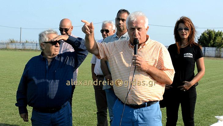 Ένα ακόμα κύπελλο ζήτησε από τον πρόεδρο της ΕΠΣΗ ο Δημήτρης Παπαδόπουλος (βίντεο)
