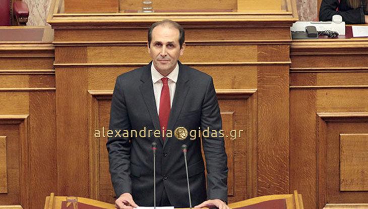 Επανέφερε στη Βουλή το ζήτημα των αποζημιώσεων των παραγωγών ροδακίνων Ημαθίας ο Απ. Βεσυρόπουλος