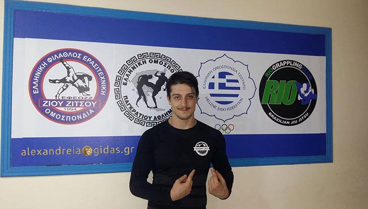 Προετοιμασία του Αντώνη Κούγκα για το No-Gi Brazilian Jiu Jitsu μαζί με δυνατό στήριγμα δίπλα του! (φώτο)