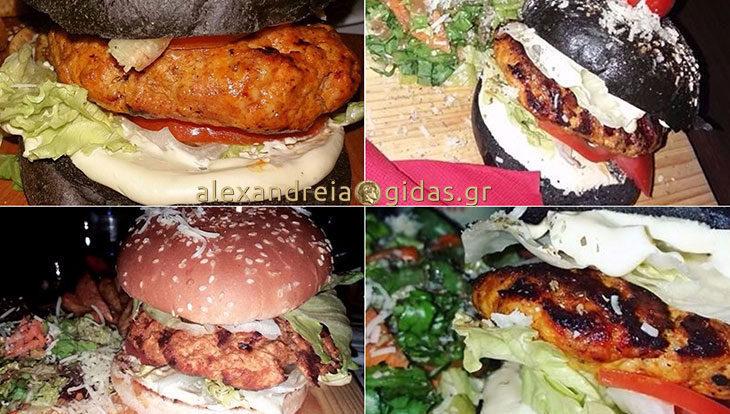 Την τιμητική τους έχουν σήμερα τα burgers στο OLIVE στον πεζόδρομο!
