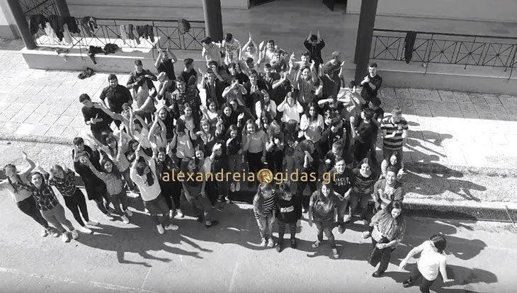Εντυπωσιακό σποτάκι για τον χορό της Γ΄ τάξης του 1ου ΓΕΛ Αλεξάνδρειας! (βίντεο)