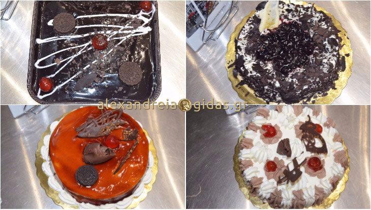 Θα ερωτευτείτε τις τούρτες στο νέο αρτοζαχαροπλαστείο ΓΚΛΑΒΙΝΑΣ στην Αλεξάνδρεια! (φώτο)