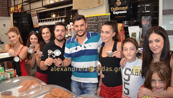 Σεμινάριο του καφέ με ειδικό barista πραγματοποίησε το IL COFFEE DEL MONDO στην Αλεξάνδρεια! (φώτο)