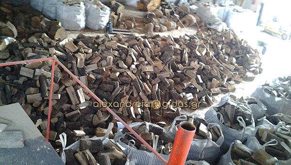 Αργήσατε να πάρετε ξύλα για το χειμώνα; Δείτε που θα βρείτε ξερά καυσόξυλα στην Αλεξάνδρεια!