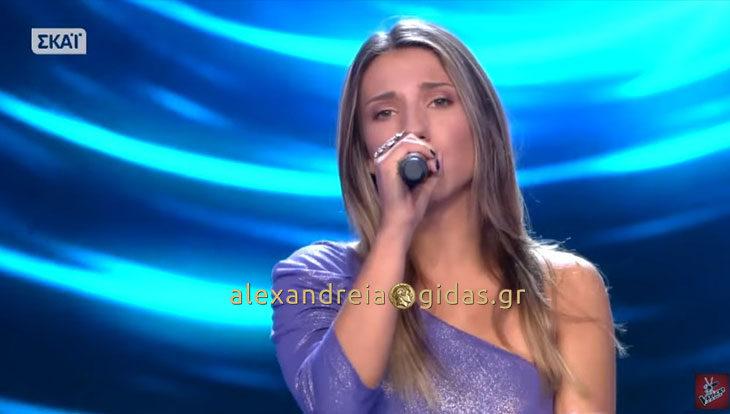 Κόρη πρώην βουλευτή από την Αλεξάνδρεια «έσκισε» στο VOICE! (βίντεο)