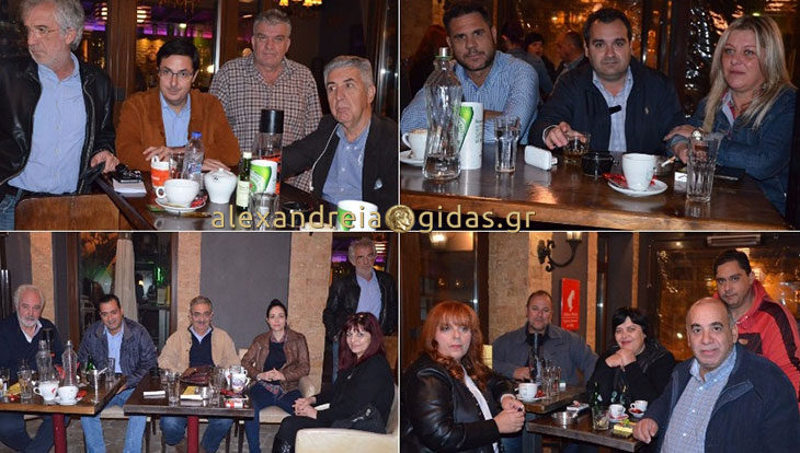 Συναντήθηκαν στην Αλεξάνδρεια για τις εκλογές στην Κεντροαριστερά (φώτο)