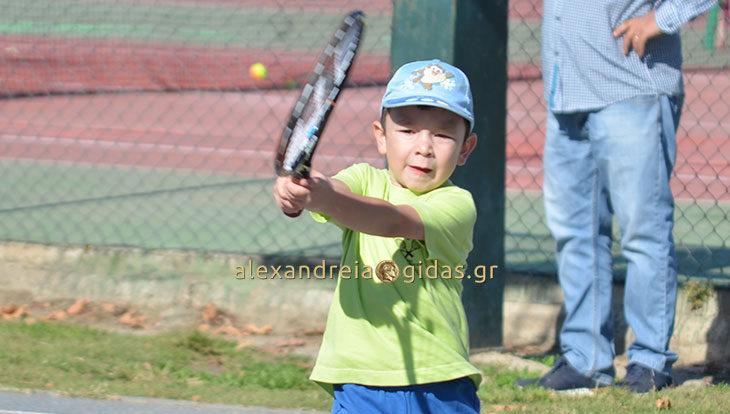 Γέμισε νεαρά ταλέντα του τένις το αμφιθέατρο Αλεξάνδρειας! (φώτο)