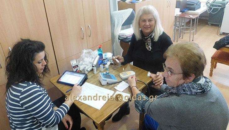 Πραγματοποιήθηκαν οι εξετάσεις Τηλεϊατρικής στο ΚΑΠΗ Αλεξάνδρειας (φώτο)