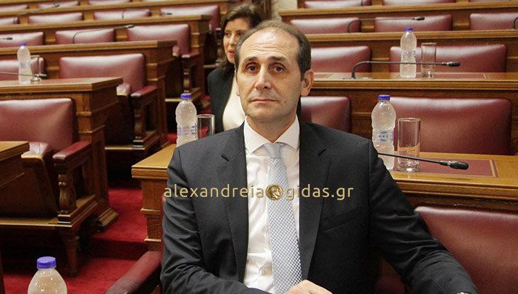 Παρέμβαση Βεσυρόπουλου στη Βουλή για τις επιχειρήσεις που δραστηριοποιούνται στην εκτροφή βοοειδών