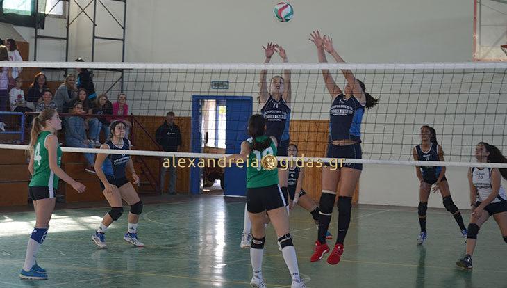 Άνετη νίκη στο ξεκίνημα για τα κορίτσια βόλεϊ του ΓΑΣ Αλεξάνδρειας (φώτο)
