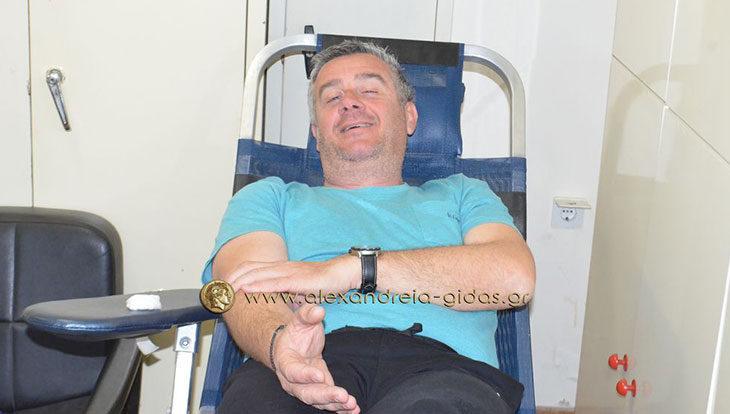 Την Τετάρτη 1 Νοεμβρίου η Εθελοντική Αιμοδοσία στο Κέντρο Υγείας Αλεξάνδρειας