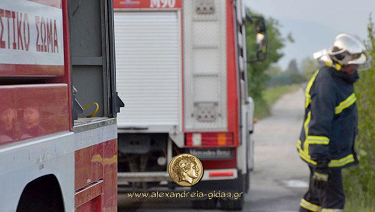 183 τηλεφωνήματα δέχτηκε η Πυροσβεστική Υπηρεσία Αλεξάνδρειας στις πλημμύρες
