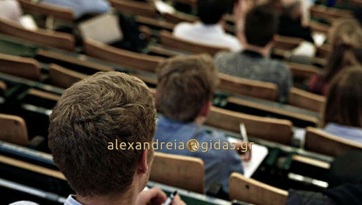 Επτά (7) θέσεις πρακτικής άσκησης φοιτητών στην Π.Ε. Ημαθίας (πληροφορίες)