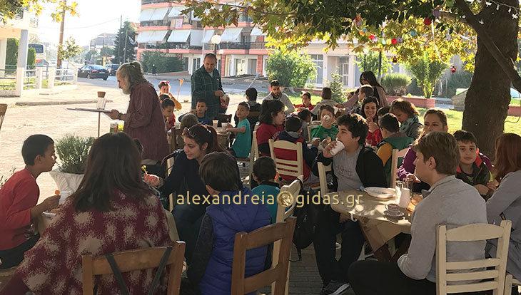 Πρωινό στο Γιαρντίμ για το Ειδικό Σχολείο Αλεξάνδρειας (φώτο)