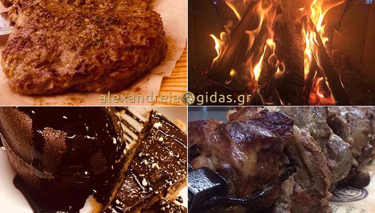 Αυθεντικές γεύσεις στον ΜΑΚΗ στο Βρυσάκι και ένα σουφλέ σοκολάτας στο τέλος! (φώτο)