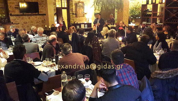 Οι προτάσεις του Γιώργου Μπίκα για τα παραρτήματα του Επιμελητηρίου σε Αλεξάνδρεια και Νάουσα και τον τουρισμό