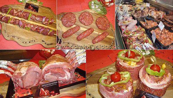 Κρεοπωλείο ΤΟΛΗΣ στην Αλεξάνδρεια: Παραδοσιακές γεύσεις και ντόπια ελληνικά κρέατα! (φώτο)