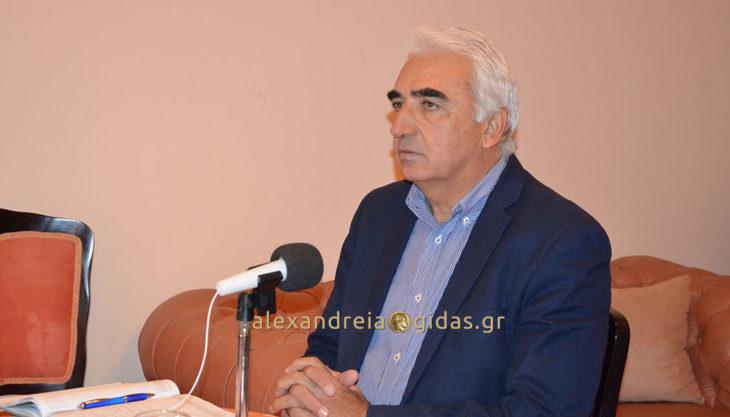 Ο κύβος ερρίφθη: Υποψήφιος δήμαρχος Αλεξάνδρειας ο Μιχάλης Χαλκίδης – τι είπε στη συνέντευξη (βίντεο)