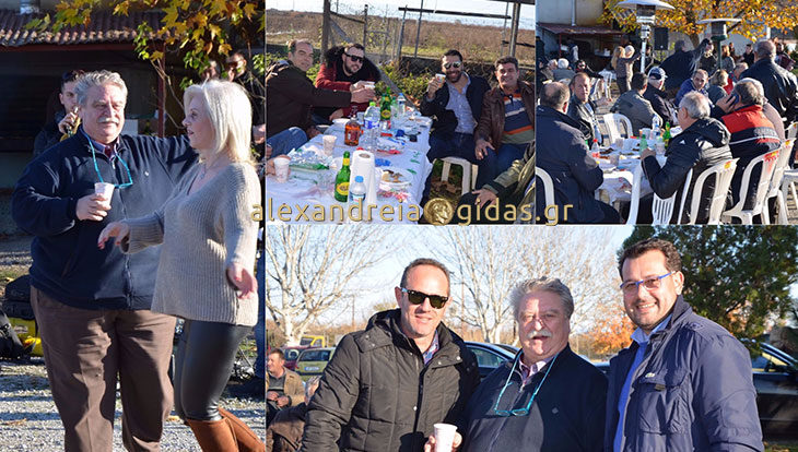 Με φίλους και συνεργάτες γιόρτασε ο εκκοκκιστής Νίκος Ουσουλτζόγλου (φώτο)