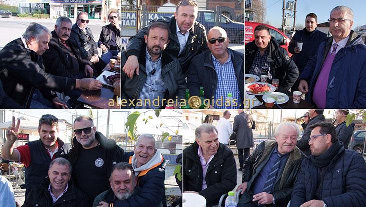 Συνάντηση με πλούσιο πολιτικό και αθλητικό κους κους το μεσημέρι στην Αλεξάνδρεια (φώτο)