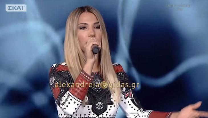 Πέταξε για τον τελικό του VOICE η Μαρίνα Κυριαζοπούλου από την Αλεξάνδρεια! (βίντεο)
