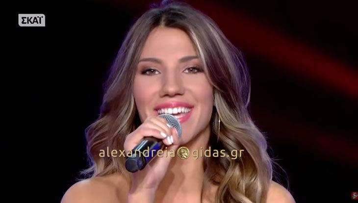 Συνεχίζει με Μουζουράκη στο VOICE η Μαρίνα Κυριαζοπούλου με καταγωγή από την Αλεξάνδρεια! (βίντεο)