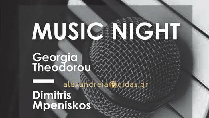 Βραδιά ζωντανής μουσικής με την Γεωργία και τον Δημήτρη απόψε στο OLIVE!