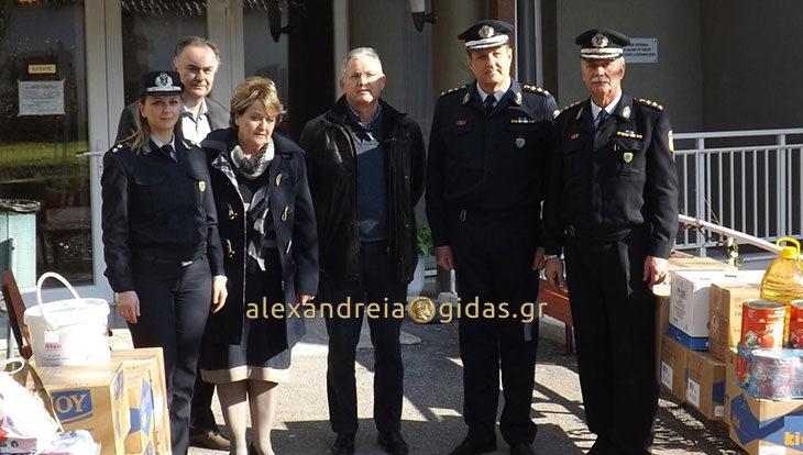 Το κοινωνικό τους πρόσωπο έδειξαν οι αστυνομικοί της Ημαθίας
