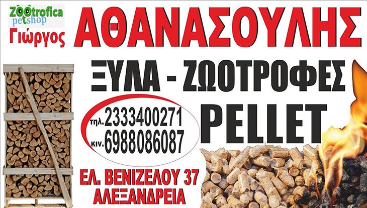 Ζεσταθείτε με μπρικέτες και πέλλετ από το Pet Shop ZOOtrofica στην Αλεξάνδρεια! (φώτο)