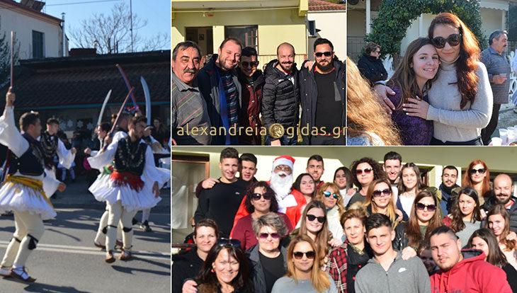 Ρουγκάτσια και γουρουνοχαρά στην Κυψέλη του δήμου Αλεξάνδρειας – πως έφτασε φέτος ο Άι Βασίλης! (φώτο-βίντεο)