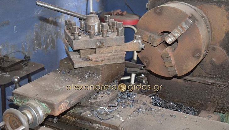 Πωλείται πλήρης μηχανουργικός εξοπλισμός στην Αλεξάνδρεια (πληροφορίες)