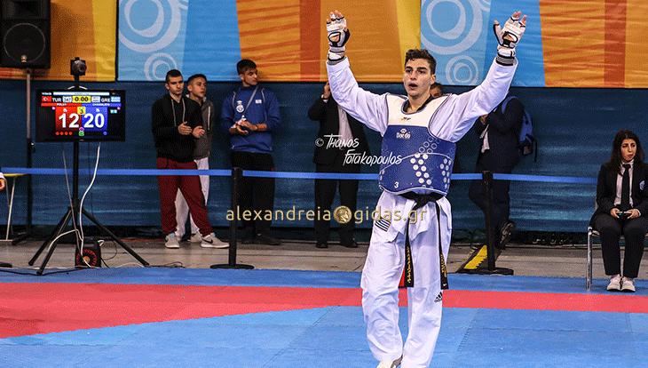 Πρώτος στον κόσμο στο Tae Kwon Do ο Κωνσταντίνος που πήρε το χρυσό στη Σλοβενία!