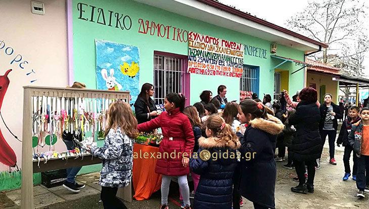 Η Αγάπη και η Αλληλεγγύη έχουν φωλιά στο παζάρι του Ειδικού Σχολείου Αλεξάνδρειας (φώτο)