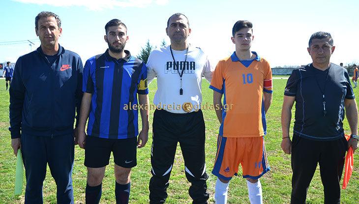 Σχολικοί αγώνες ποδοσφαίρου: Μετά από ένα συναρπαστικό παιχνίδι το 1ο ΓΕΛ Αλεξάνδρειας κέρδισε με 5-4 τη Μελίκη (φώτο-βίντεο)