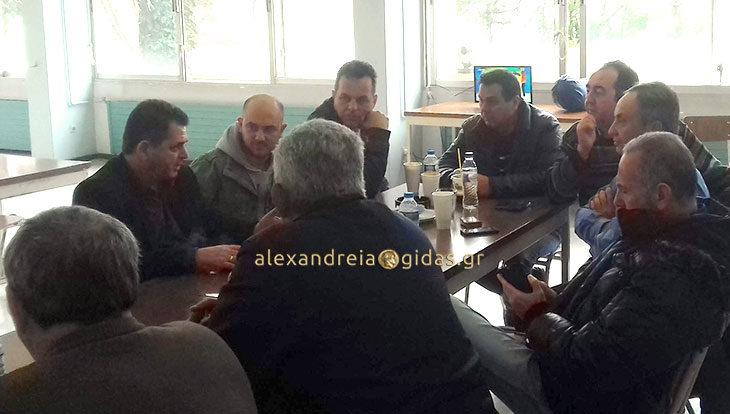 Στο εργοστάσιο Ζάχαρης στο Πλατύ το πρωί ο αντιπεριφερειάρχης Κώστας Καλαϊτζίδης