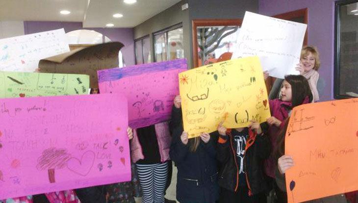 Εκδήλωση κατά της ενδοσχολικής βίας στη Βιβλιοθήκη της Αλεξάνδρειας (φώτο)
