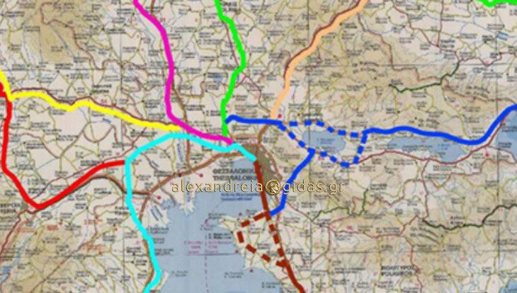 Προαστιακός σιδηρόδρομος που θα συνδέει Πλατύ – Αλεξάνδρεια – Βέροια – Νάουσα